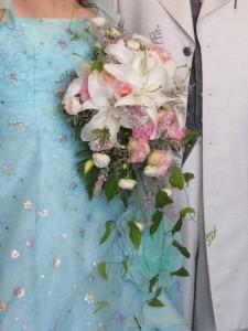 結婚式の前撮り用のブーケ