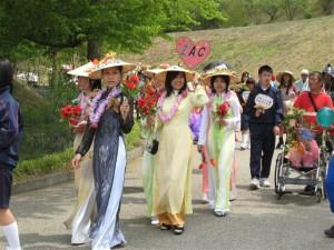 はな花パレード2008蓮の乙女たち