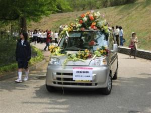 はな花パレード2008造花を使った提案装飾