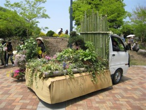 はな花パレード2008寄せ植え華道協会岐阜支部