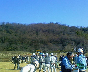 三井山桜植樹