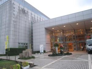 国体銃剣道競技リハーサル大会立体花飾り(110819)