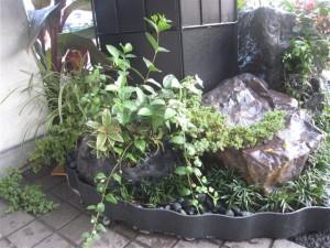 国体ホッケー競技リハーサル大会立体花飾り(110914)